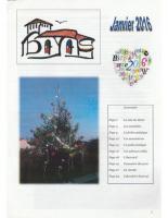 Le Bayardois #04 – Janvier 2016