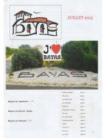 Le Bayardois #03 – Juillet 2015